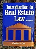 img - for Introduction to Real Estate Law book / textbook / text book