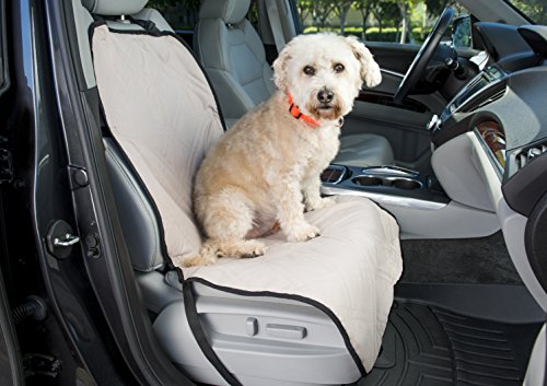 Front Bucket Seat Cover for Dogs - Protect Your Car and Furniture From Pet Hair - Dog Harness Included (Formosa Seat Cover For Pets compare prices)