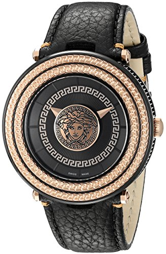 Versace-Mens-VQL030015-V-Metal-Icon-Analog-Display-Quartz-Black-Watch