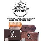 Beard-Comb-Fine-Coarse-Tooth-Handmade-Genuine-Sandalwood-Brush-for-Hair-Smells-Amazing-Anti-Static-For-Stylish-Beard-Mustache-Grooming-Best-Premium-Giftbox-Set-BONUS-a-Digital-Booklet