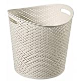 Curver My Style Round White Paper Bin 30 Litre - Home, kitchen, office, bed room