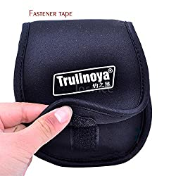 Trulinoya Fishing Reel Bag Spinning Reel Protective Cover NEW HQ LS 5J00