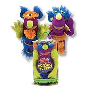 Melissa & Doug Deluxe Fuzzy Make - Your - Own Monster Puppet