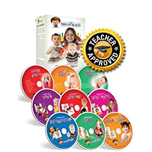 My Talking Toddler Early Communication System Complete 9 DVD Set 2012