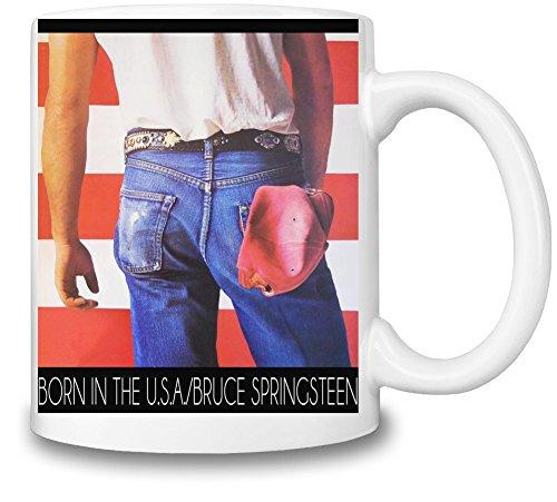 Bruce Springsteen Born In The USA Tazza Coffee Mug Ceramic Coffee Tea Beverage Kitchen Mugs By Genuine Fan Merchandise