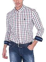 Giorgio Di Mare Camisa Hombre (Blanco / Azul)