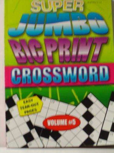 Cheap Paradise Press CROSSWORD PUZZLE (SUPER JUMBO PRINT) (B000O3JRZW)