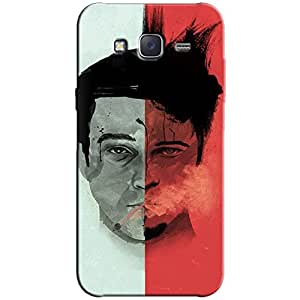 FIGHT CLUB BACK COVER FOR SAMSUNG J7