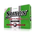 Srixon Soft Feel Men's Golf Balls - White, 12 Pack