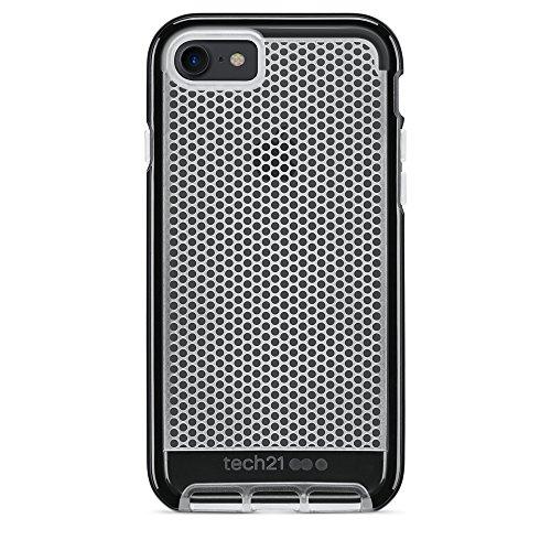 Tech21 Evo Mesh Case for iPhone 7/ 7Plus メッシュ 保護 ケース アイフォン (4.7インチ, ブラック)