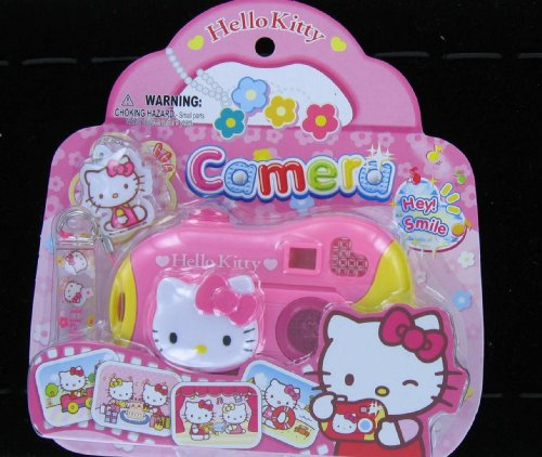 Japanese Sanrio Hello Kitty Toy Camera with Sound and Light