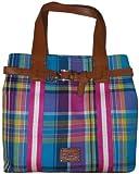 Tommy Hilfiger Women's Large Tote Handbag, Plaid