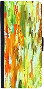 Snoogg Abstract Paintdesigner Protective Flip Case Cover For Samsung Galaxy G...