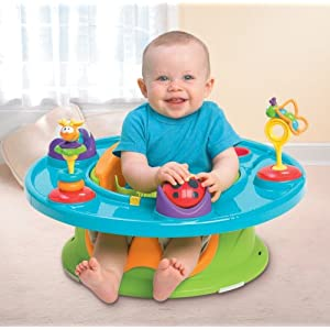Summer Infant 3 Stage Super Seat Baby Booster Chair Brand