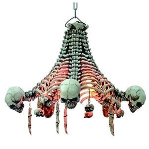 deckenlampe skelette mit herunterh ngenden sch deln k che haushalt. Black Bedroom Furniture Sets. Home Design Ideas