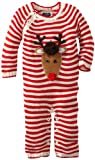 Mud Pie Unisex-Baby Newborn Knit Reindeer 1 Piece