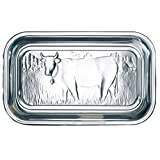 BHL Glass Cow Butter Dish With Lid