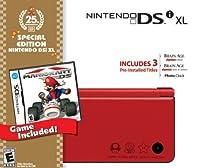 Nintendo DSi XL Red Bundle with Mario Kart by Nintendo
