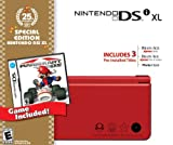 Nintendo DSi XL Red w/Mario Kart DS Bundle