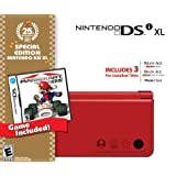 Nintendo DSi XL Red w/Mario Kart DS Bundle - Bundle Editionby Nintendo