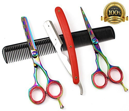 ideal-gift-3-x-professional-hair-cutting-thinning-scissors-shears-hairdressing-set-by-blue-avocado