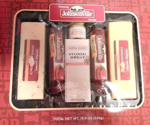 JOHNSONVILLE SAUSAGE AND CHEESE HOLIDAY GIFT