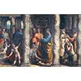The Healing of The Lame Man, by Raphael (V&A Custom Print)