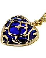 The Legend of Zelda Skyward Sword Blue Heart Pierced Necklace Anime Costume