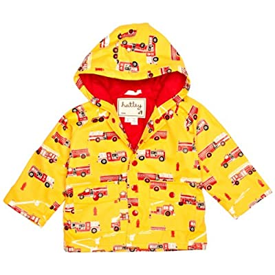 Hatley Fire Trucks Boy's Rain Coat