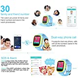 Ameter-G1-Plus-GPS-Tracker-Kids-Smartwatch-Anti-lost-SOS-Navigation-Social-Children-Watch-Phone-Pink