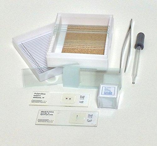 Benz Microscope Basic Glass Slide Kit, 20 pc Set (Wet Mount Kit compare prices)