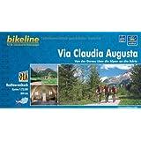 Via Claudia Augusta: Von der Donau über die Alpen an die Adria. 1:75 000. GPS-Tracks Download, wetterfest/reißfest