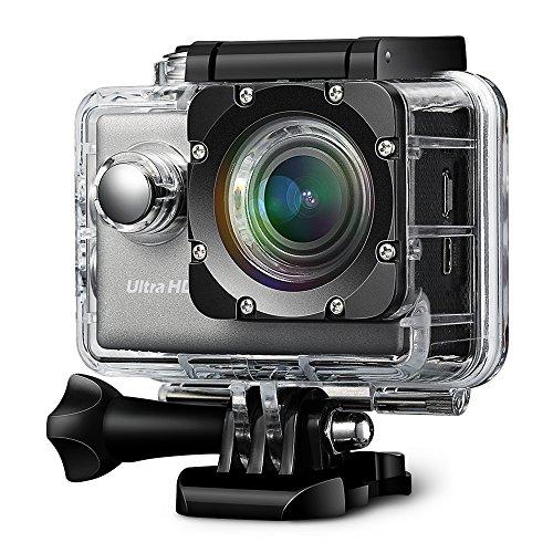 VicTsing-Wifi-20-Zoll-4K-24fps-Actioncam-mit-Sony-IMX117-Exmor-R-Bildstabilisierungsfunktion-wasserdichte-UHD-Sport-Action-Kamera-optional-Weitwinkel-Objektiv-mit-2-Batterien-und-Zubehr-Kits-fr-Fahrra
