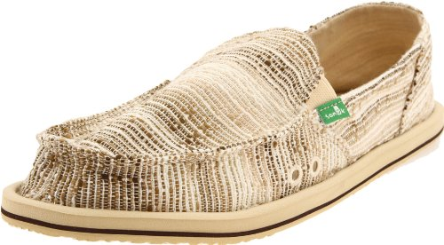 Sanuk Women's Laurel Sidewalk Surfer Slip-On,Beige,6 M US