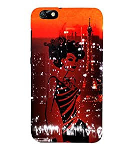 Eiffel Tower New York America 3D Hard Polycarbonate Designer Back Case Cover for Huawei Honor 4X :: Huawei Glory Play 4X