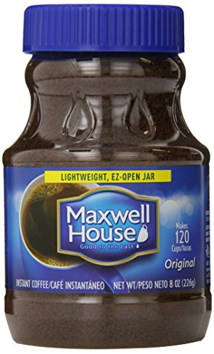 Maxwell House Instant, Original Roast 8-Ounce Jars (Pack of 3)