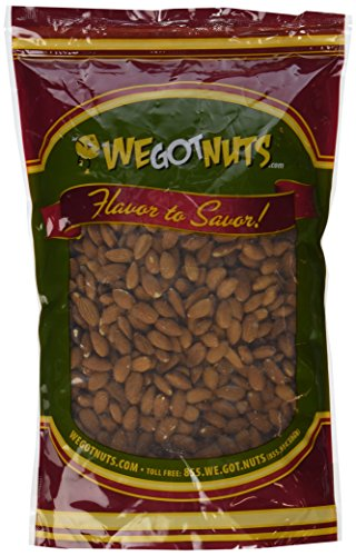 Natural Raw Almonds (4 Pound Bag)