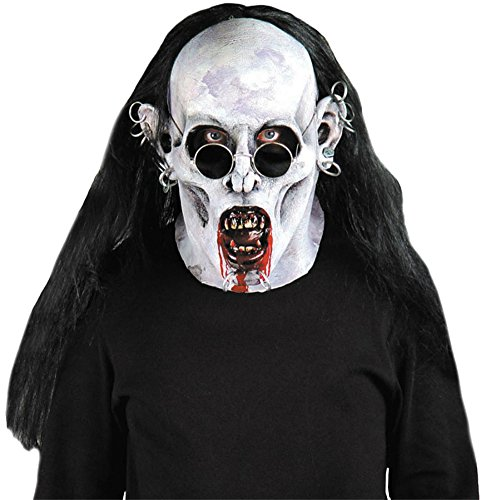Goth Vampire Scary Bloody Zombie Latex Adult Halloween Costume Mask