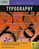 img - for Exploring Typography (Graphic Design/Interactive Media) book / textbook / text book