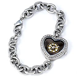 Boston Bruins Gametime Heart Bracelet/Watch