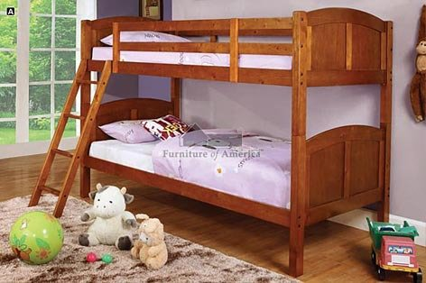 Simple Bunk Beds 9037 front