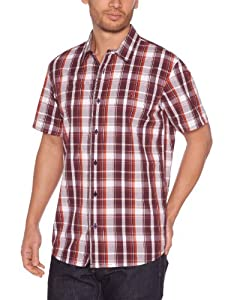 Oxbow Otaru Chemise manches courtes homme Raisin FR : 38 (Taille Fabricant : M)