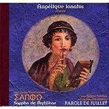 Sappho De Mytilhne Angelique Ionatos