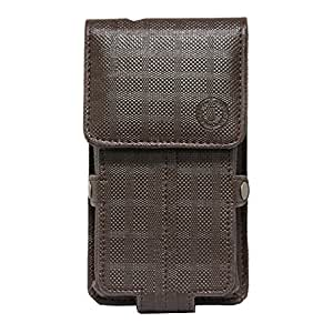 Jo Jo A6 D4 Series Leather Pouch Holster Case For Lenovo K5Note Brown