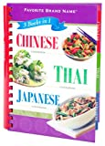 Chinese, Thai, Japanese Cookbook: 3 Books in 1: Favorite Brand Name