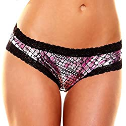 Foil Booty Short - Pink graphic (LM)