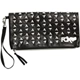 "Fox Racing To The Moon Clutch Women's Casual Purse - Black / Size 10 1/2"" x 5 1/2"" x 1"""
