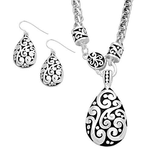 rosemarie-collections-tear-drop-pendant-necklace-and-earring-set