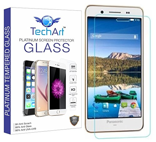 TechArt 9H Hardness Toughened Scratch Proof 2.5D Tempered Glass Screen Protector for Panasonic Eluga Z  available at amazon for Rs.149