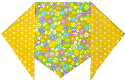 Easter Eggs and Chicks Bandana - Yellow, XX-Large